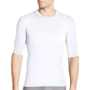 adidas Men's Training Techfit Base Tee White 2XS
